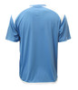 Diadora Grinta short sleeve soccer goalkeeper jersey, Columbia Blue, back