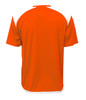 Diadora Grinta short sleeve soccer goalkeeper jersey, Orange, back