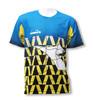 Diadora custom sublimated soccer goalie jersey, by Code Four Athletics