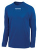 Diadora long-sleeve Leggera soccer jersey, in royal