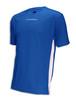 Diadora Calcio soccer jersey in royal/white