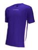 Diadora Calcio soccer jersey in purple/white