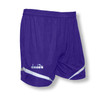 Diadora women's Stadio soccer shorts, in purple