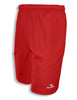 Diadora Matteo active shorts with pockets, in red