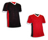 Black/Red reversible jersey for flag football and more