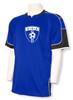 USA Soccer Jersey II, in royal/black