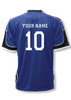 USA Soccer Jersey II, in navy/black, shown with optional customization on back