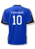 USA Soccer Jersey II, in royal/black, shown with optional customization on back