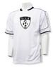 USA Soccer Jersey II, in white/black