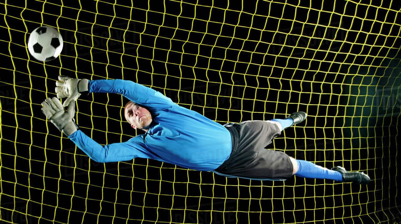 Soccer goalkeeper gear by Code Four Athletics