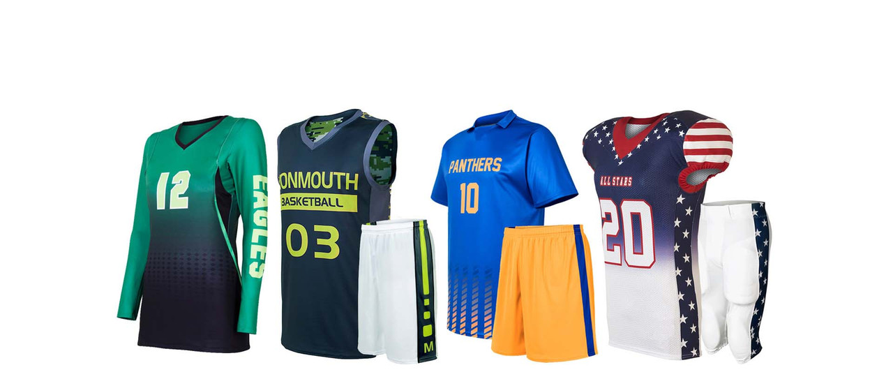 Custom Sublimation for Sports Uniforms including soccer and more, by Code Four Athletics