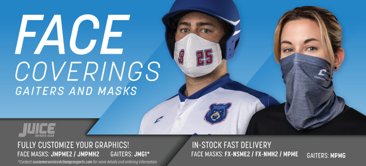 Customized Face Masks by Code Four Athletics