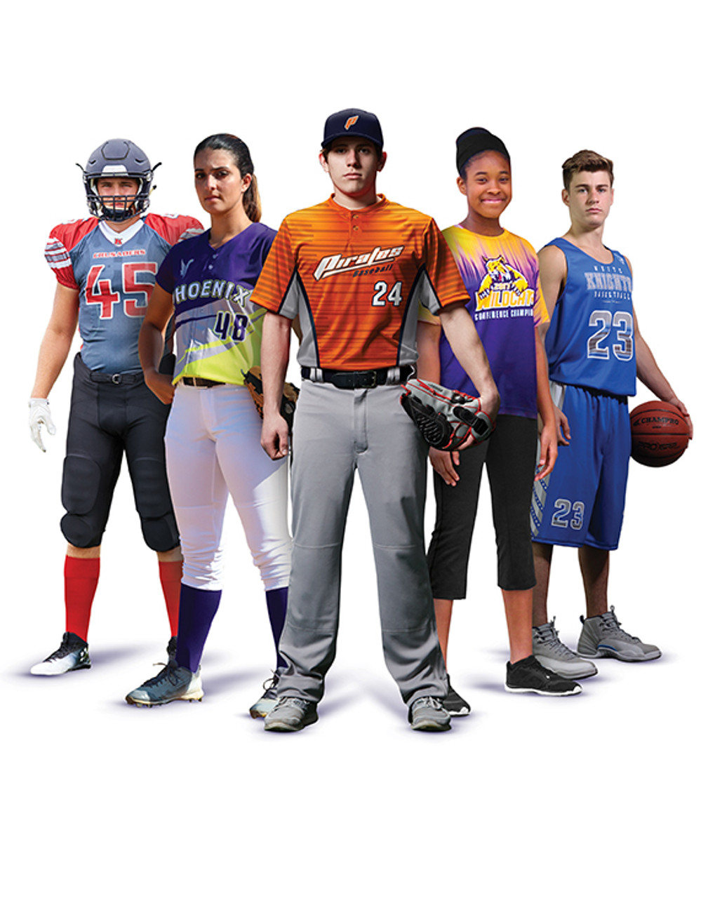 Custom Sublimated Uniforms for Baseball and More