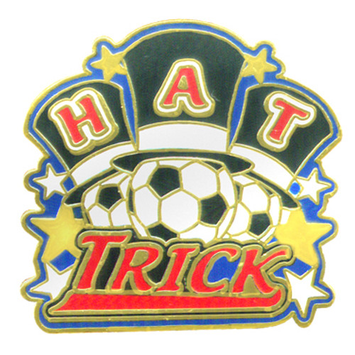 Soccer Hat Trick pin #275