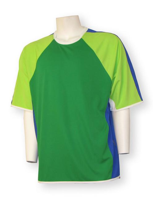 Seattle short-sleeve soccer goalie jersey - front