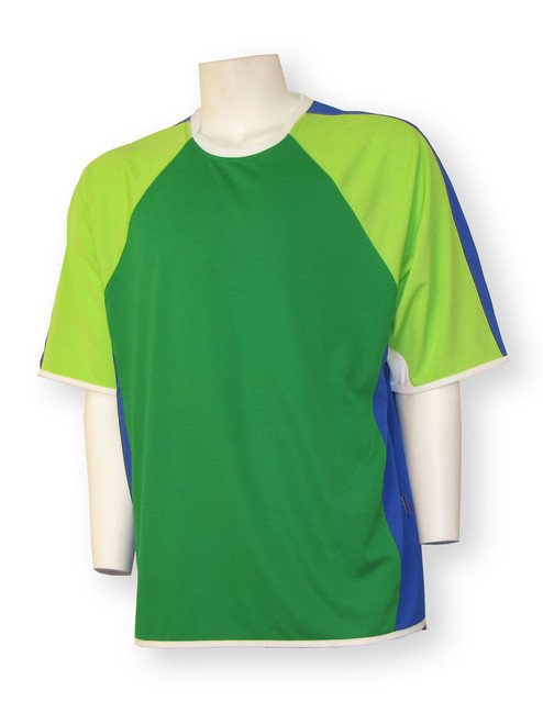Seattle short-sleeve soccer goalie jersey - front