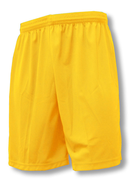Pro Soccer Shorts in Gold