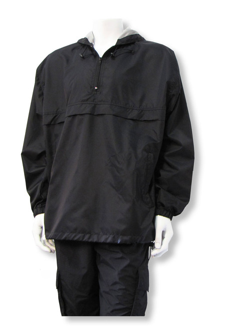 Mustang 1/2-Zip Pullover (in black only)