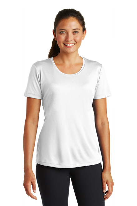 C4 LiteTECH™ Training Top for Women, in white