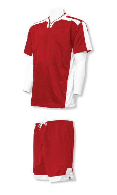 Winchester soccer uniform kit in red/white