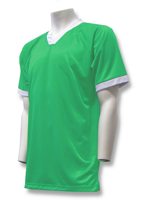 Short-Sleeve Soccer Goalie Jersey in Kelly