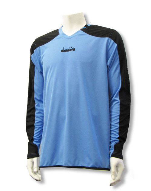 Diadora Enzo goalkeeper jersey in Columbia Blue