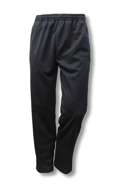 Crossover men's poly-knit athletic pants, front