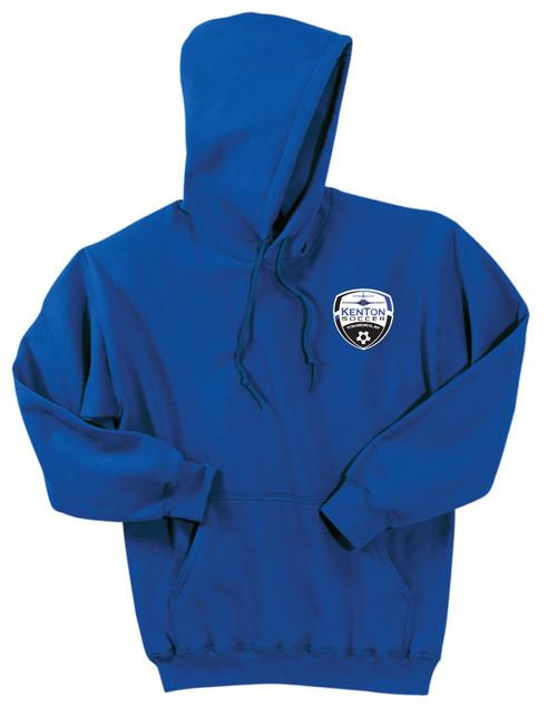 Kenton SA pullover 50/50 hoody, in royal