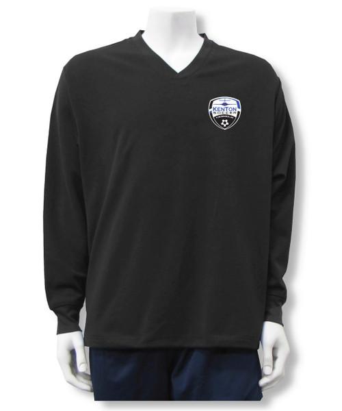 Kenton SA Warmup Pullover Top, in black