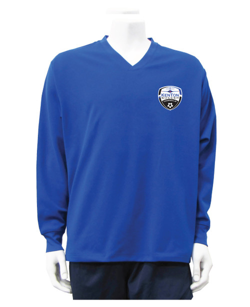 Kenton SA Warmup Pullover Top, in royal