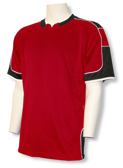 Nova soccer jersey in red