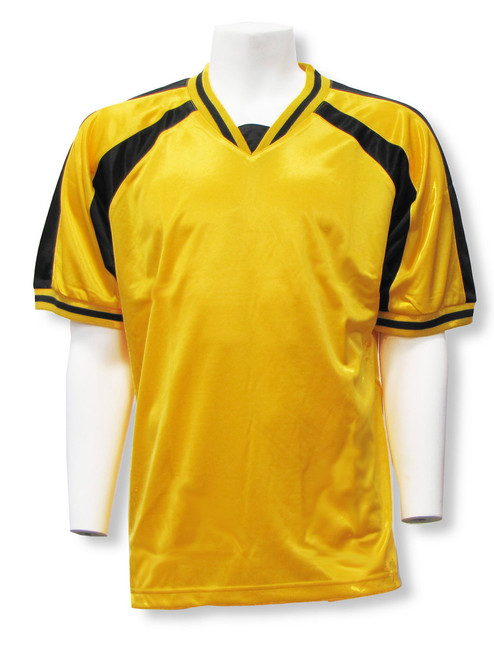 Spitfire Soccer Jersey in Gold/Black