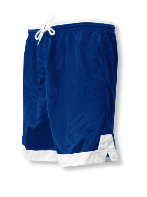 Winchester soccer shorts in navy/white