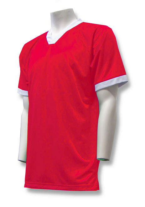 Pioneer Soccer Jersey in Red