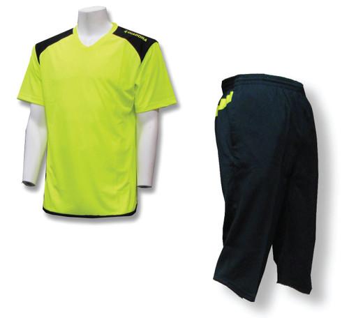 Soccer Coach Apparel Set: Diadora Grinta jersey and 3/4-length training pants