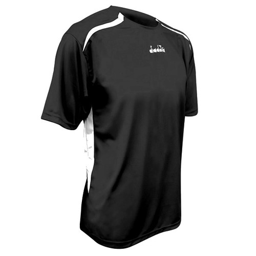 Diadora Stadio soccer jersey, in black