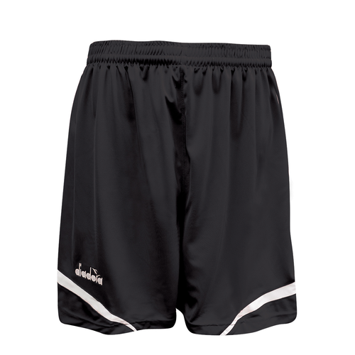Diadora Stadio soccer shorts, in black
