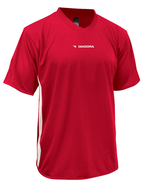 Diadora Calcio soccer jersey, in red