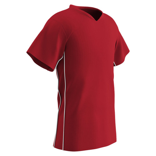 9e9910cb4 ... Champro Sports Header soccer jersey in red red ...