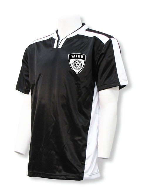 Winchester Soccer Jersey in Black/White - feature