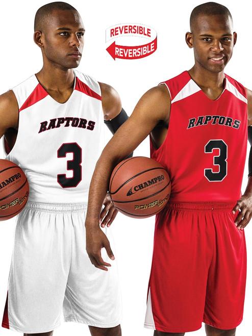 Champro Sports Slam Dunk Reversible Basketball Uniform