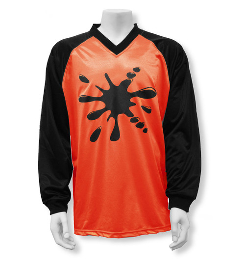 Splatt soccer goalkeeper jersey, in orange