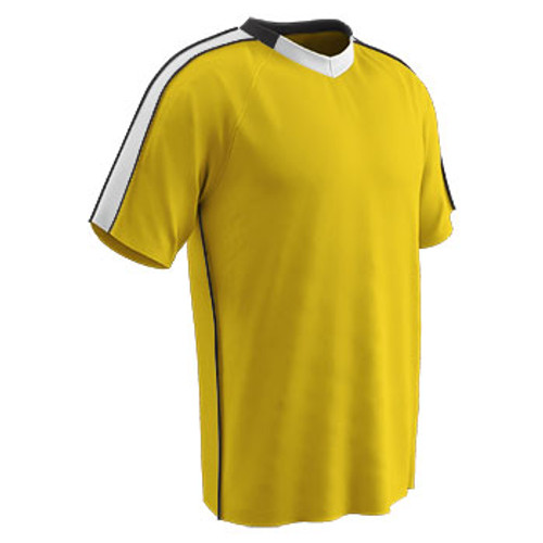 Champro Sports Mark soccer jersey in gold