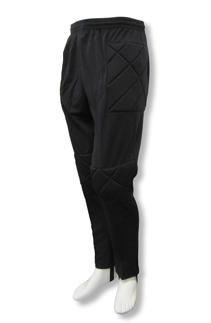 Academy soccer goalkeeper pants in black