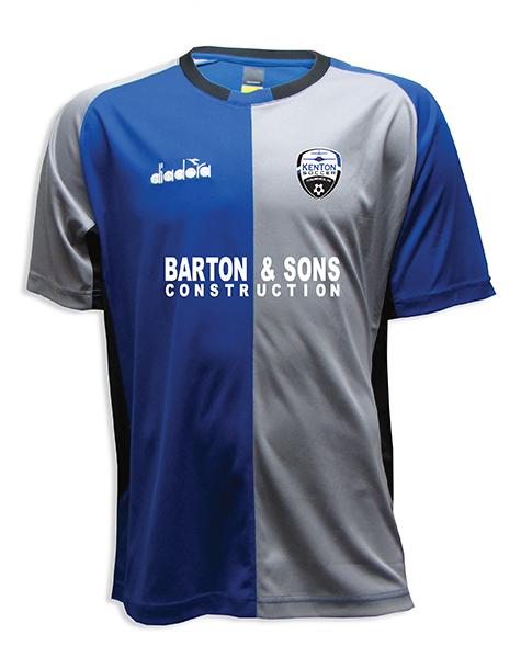Diadora Kenton SA custom soccer jersey