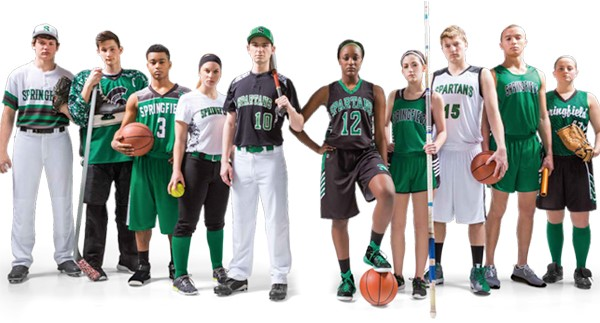 Basketball, softball and other team uniforms by Code Four Athletics