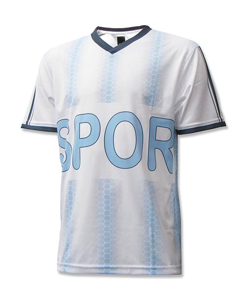 Spor custom brand soccer jersey by Code Four Athletics