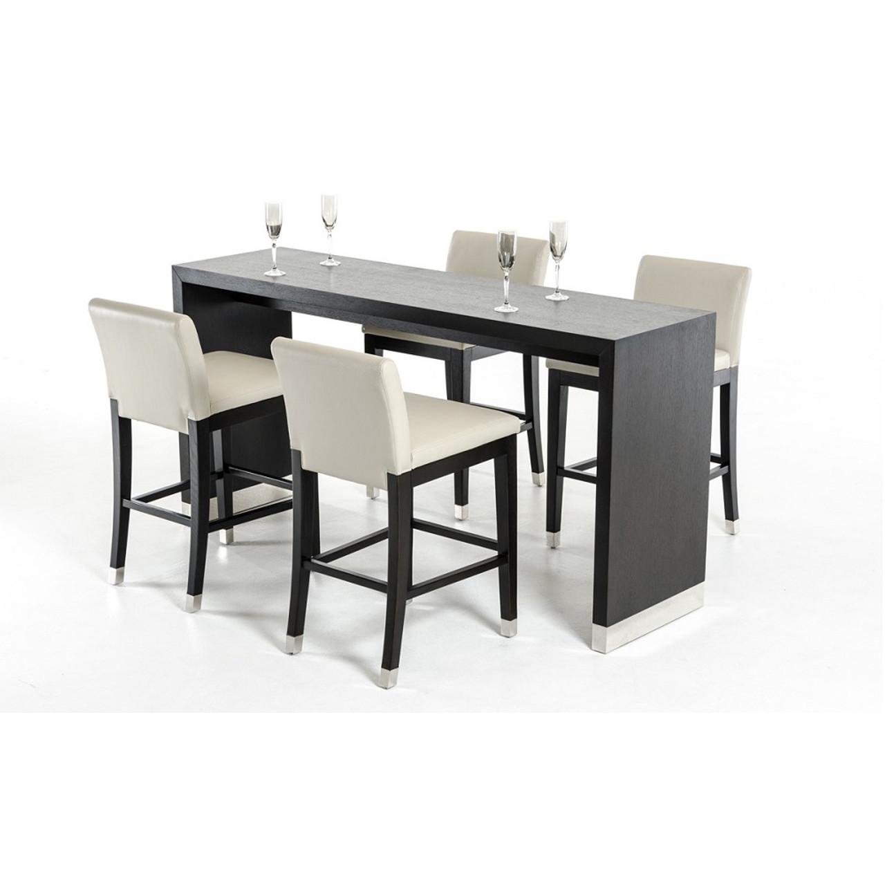 Astounding Modrest Silas Modern Wenge Wood Bar Table Forskolin Free Trial Chair Design Images Forskolin Free Trialorg