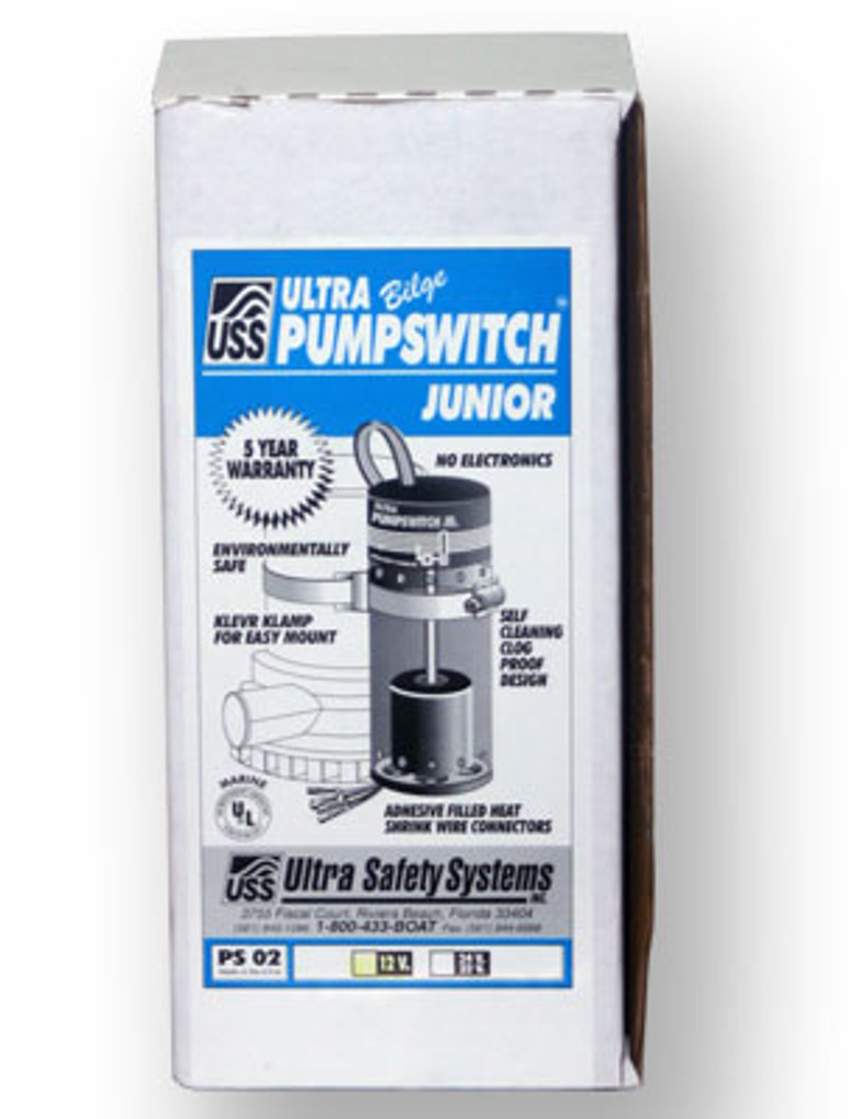 Ultra Safety Systems Bilge Pump Switch