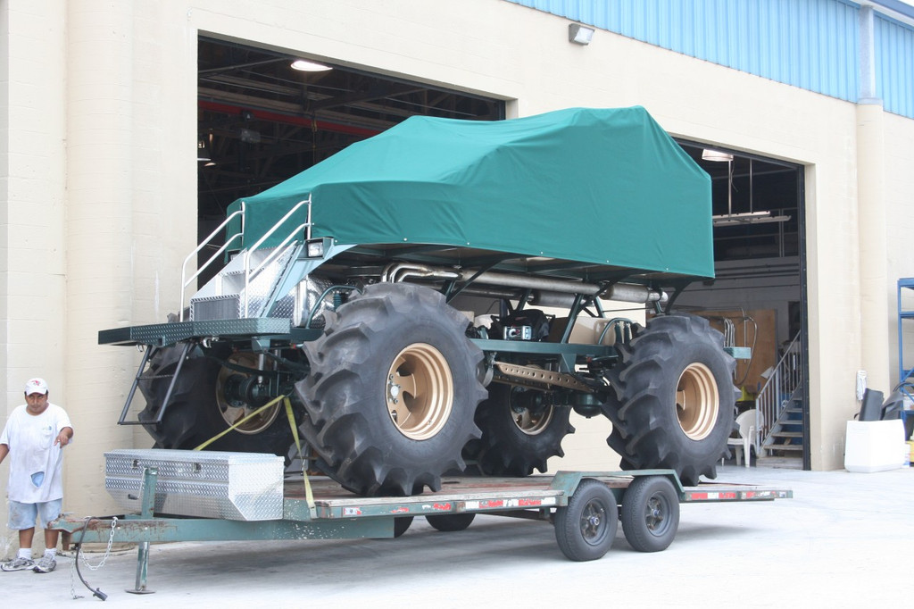 Full Cover over Swamp Buggy